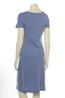 Wax jurk lotti blauw