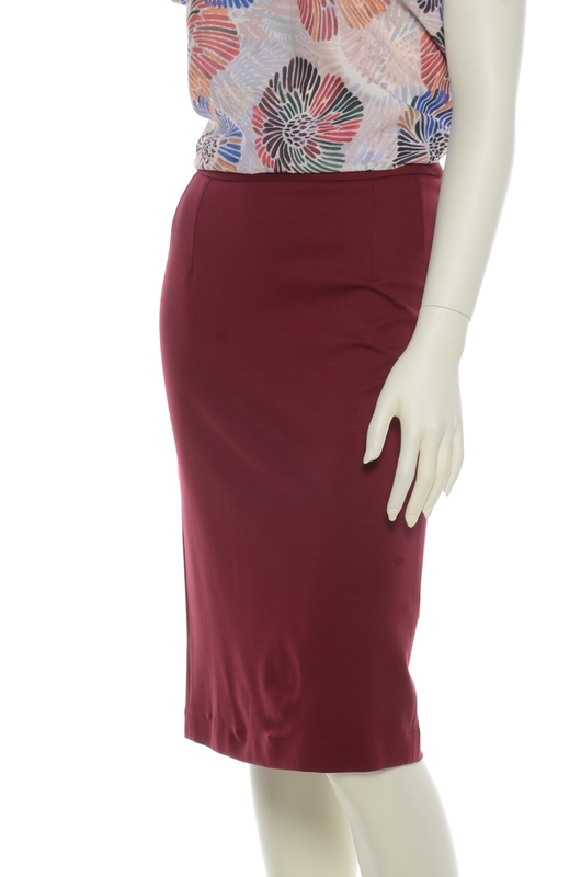 Very Cherry rok pencil bordeaux