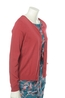 Nice Things vest round neck rood