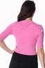 Banned vest overload roze