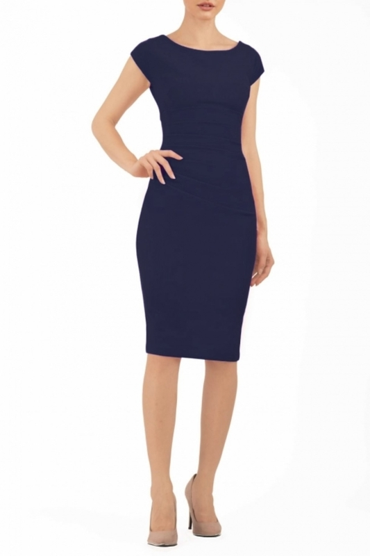 Diva Catwalk jurk polly navy