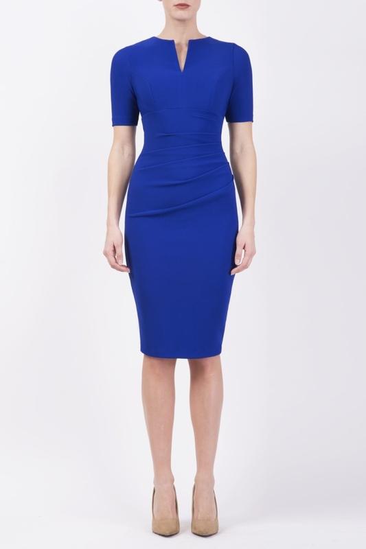 Diva Catwalk jurk lydia cobalt