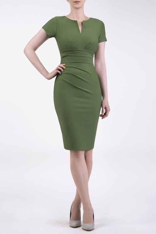 Diva Catwalk jurk donna green
