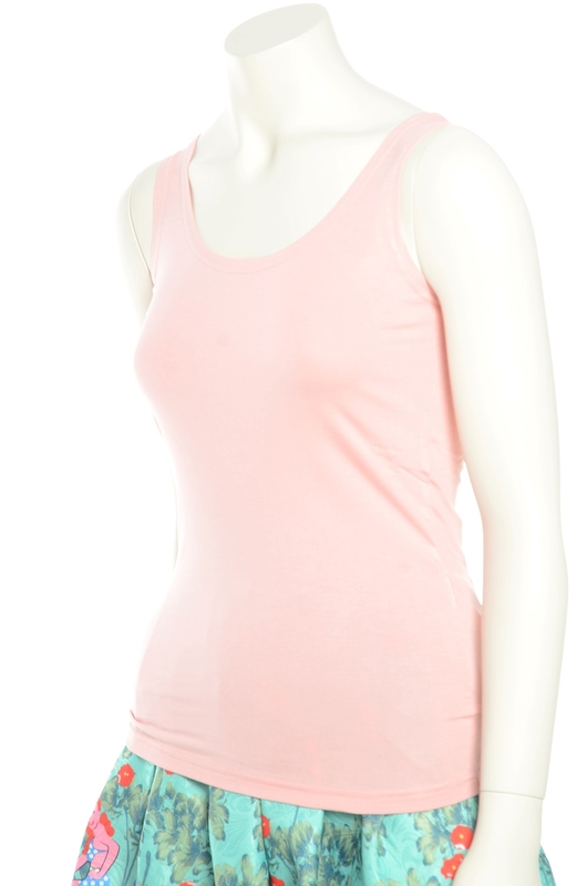 Slippely singlet powder pink