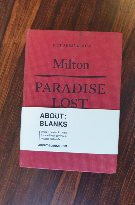 About Blanks notitieboek Paradise lost