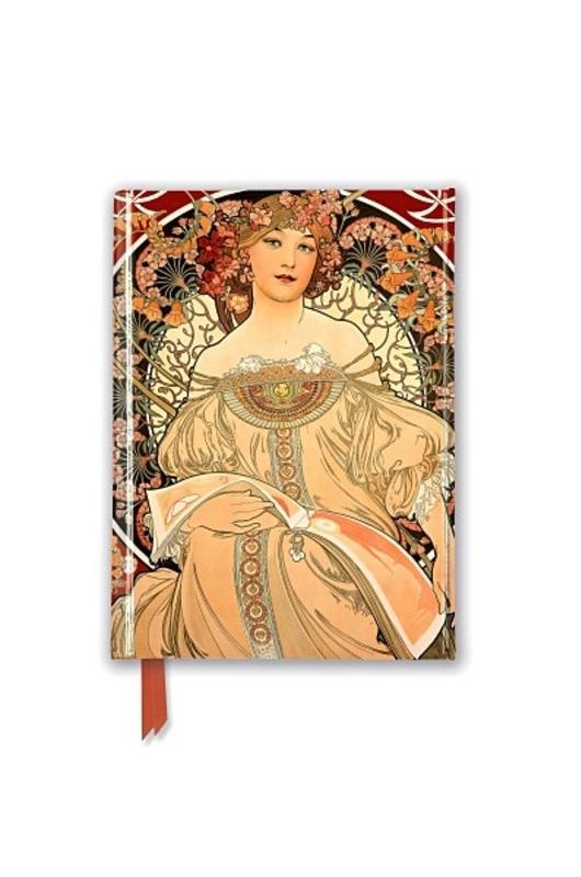 Flame Tree Pocketbook Alphonse Mucha