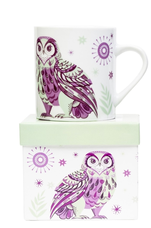 Cubic Wildwood Mug Owl