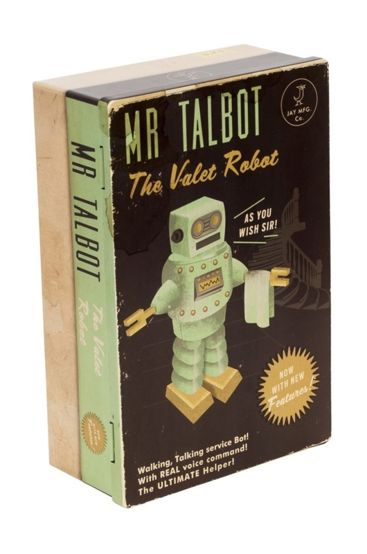 Cubic Roboutique Hinged Tin Mr Talbot