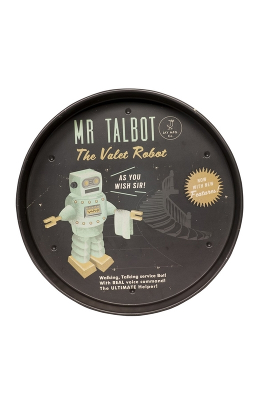 Cubic Roboutique Mr Talbot Tray
