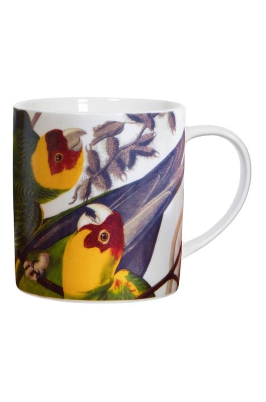 Cubic Birds Mug Parrot