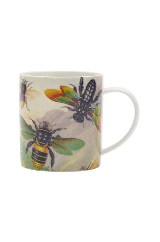 Cubic Curios Mug Rainbow Bugs