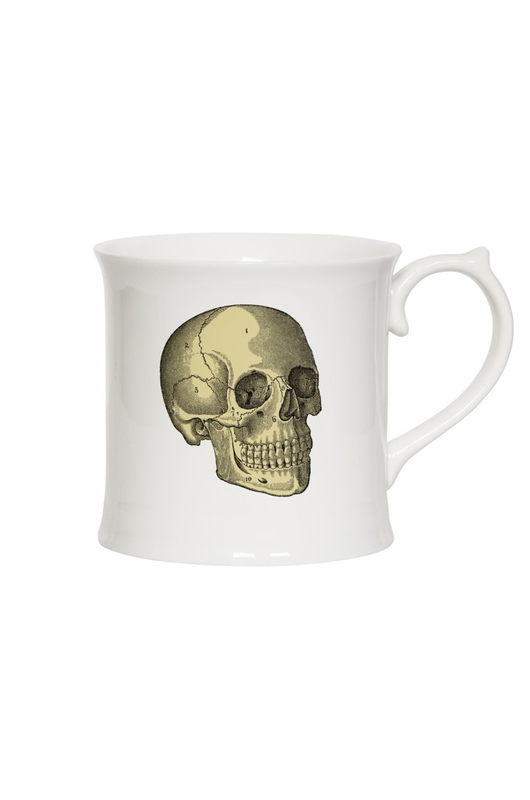 Cubic Curios Mug Skull