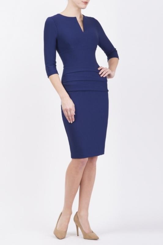 Diva Catwalk jurk daphne blauw