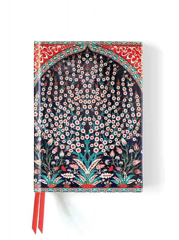 A Flame Tree Notebook Turkish wall tiles