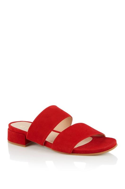 Unisa slipper canto rood