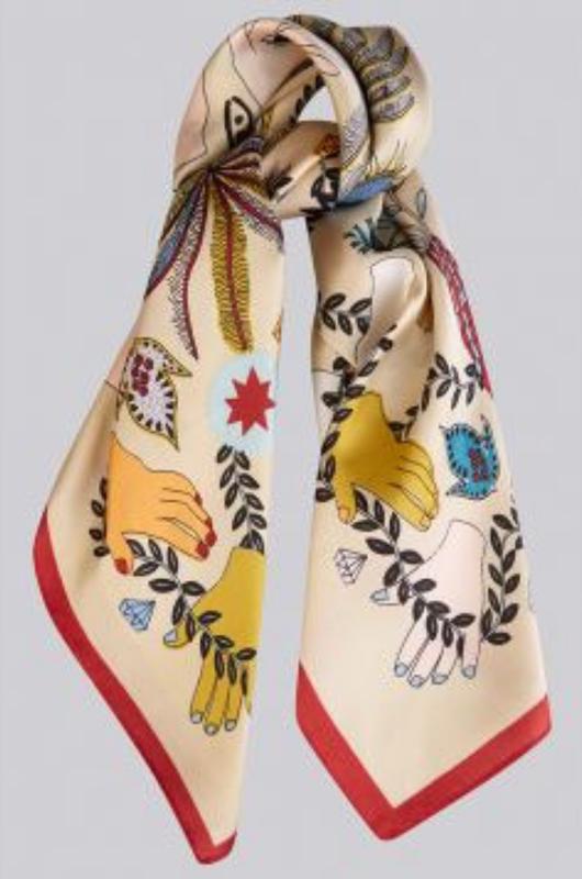 Louche sjaal lash multi