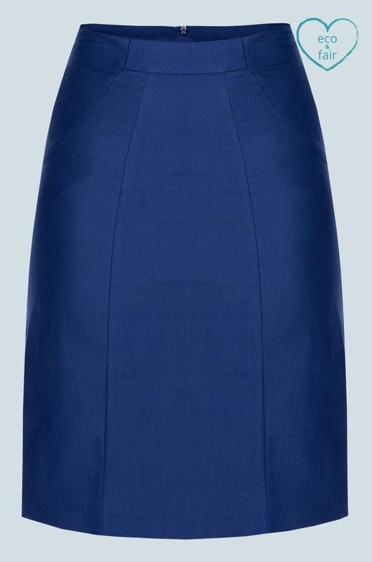 Mademoiselle Yeye rok blauw