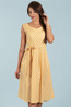 Mademoiselle Yeye jurk geel