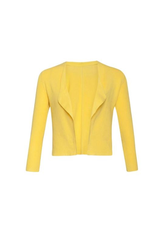 Smashed Lemon vest geel
