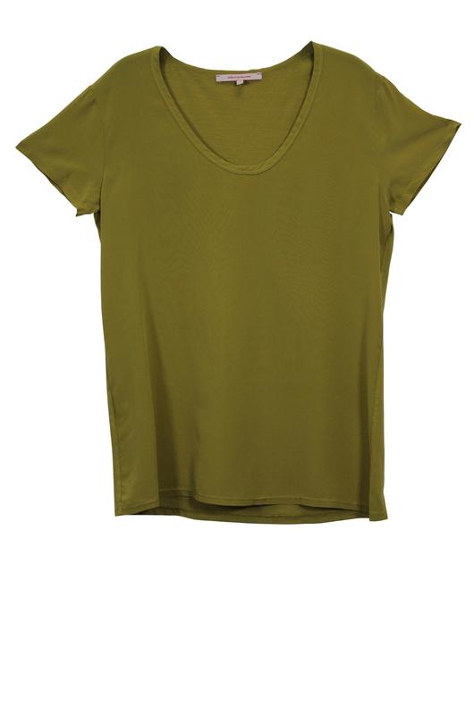 La Fée Maraboutée shirt kaki FB7363