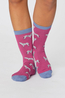 Thought sokken safari socks roze