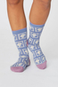 Thought sokken royal party sock pack blauw