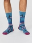 Thought sokken uphill bicycle socks blauw