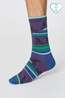 Thought sokken uphill bicycle socks paars