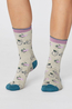 Thought sokken bicycle socks creme