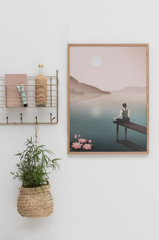Vissevasse poster lotus