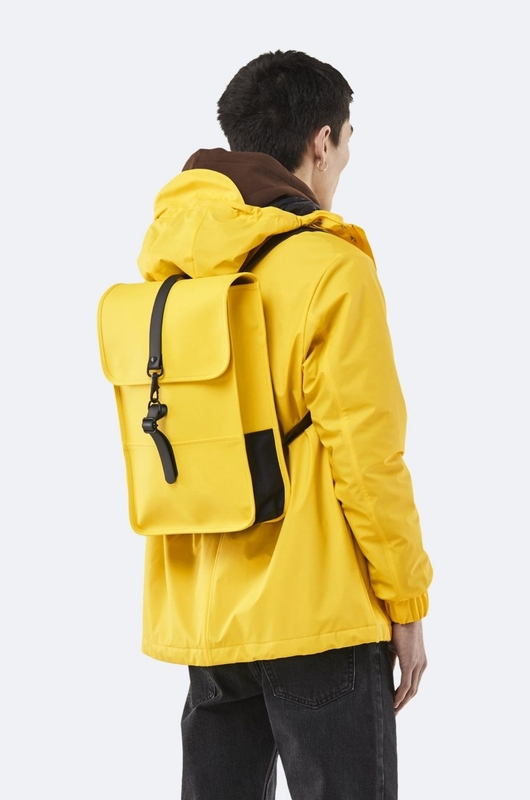 Rains rugzak backpack mini geel