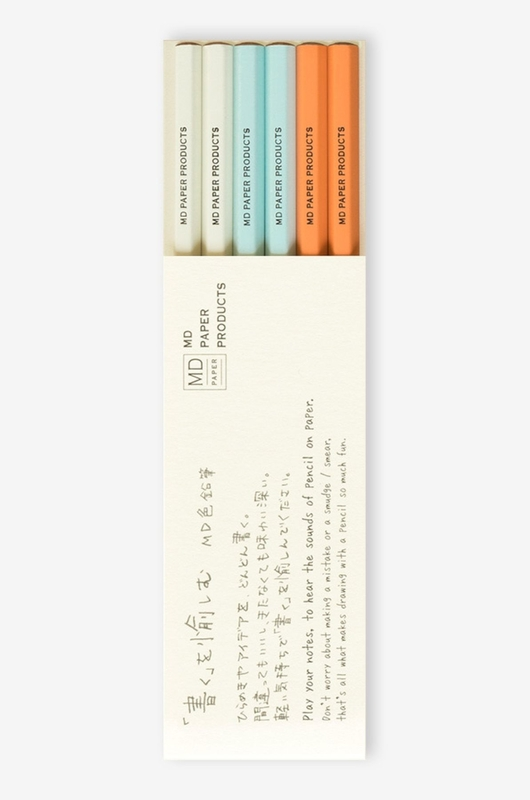 Midori Paper Products potloden color pencil set multi