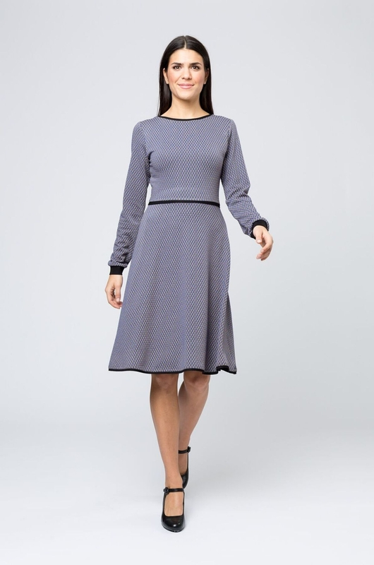 Costura jurk joline grijs
