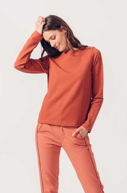 Skunkfunk shirt idoia oranje