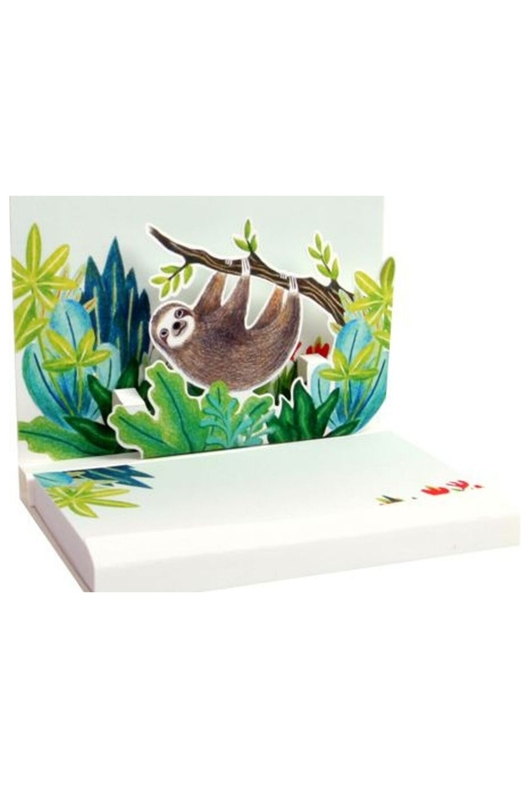 Up With Paper Pop Up note pad Lome luiaard