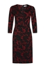 Kala jurk dress rood rood