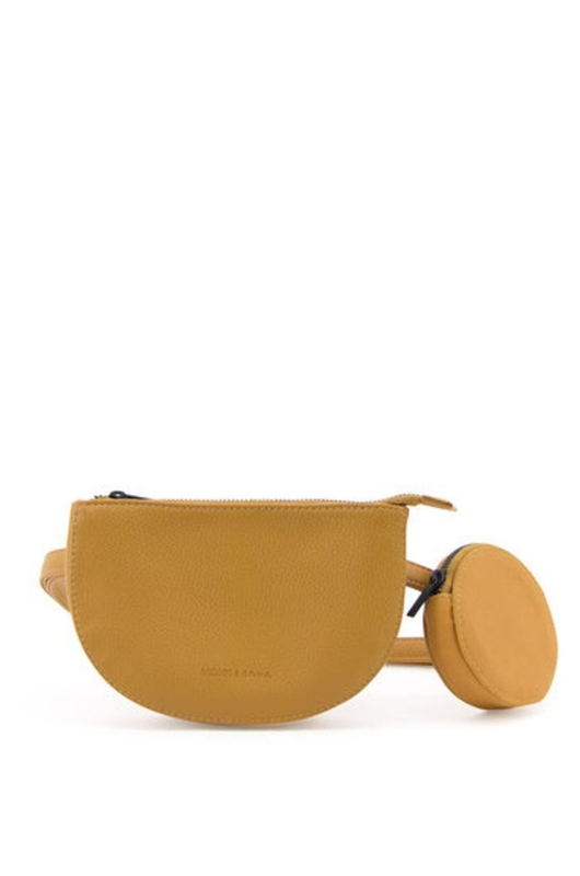 Monk & Anna tas toho belt bag geel