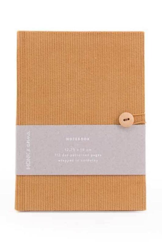 Monk & Anna notitieboek bruin