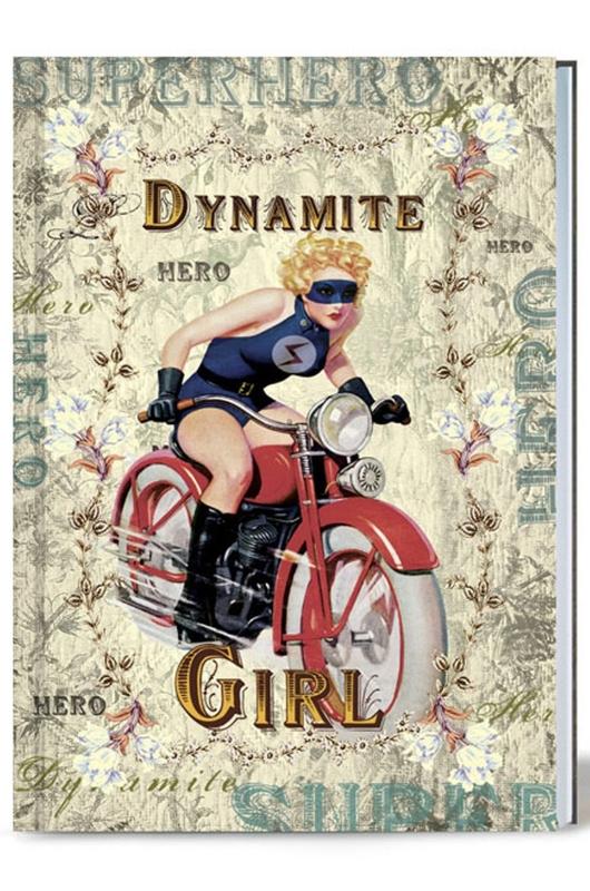 Lip International notitieboek dynamite girl multicolor