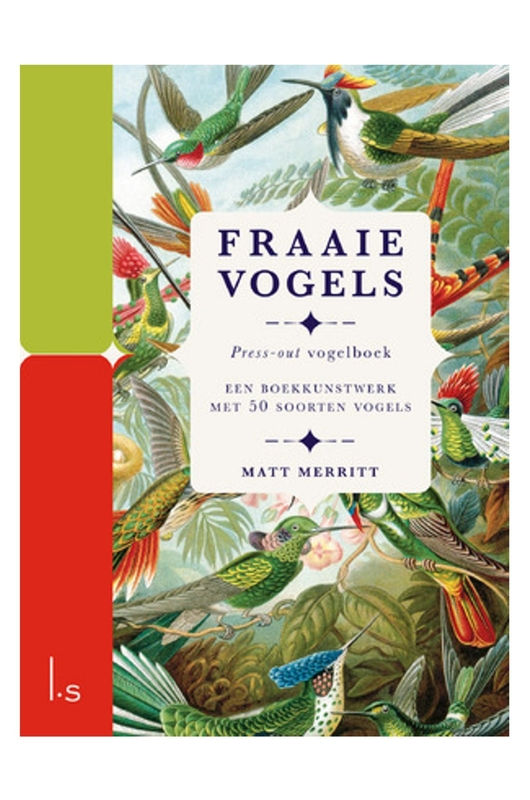 Luitingh Sijthof press out boek fraaie vogels