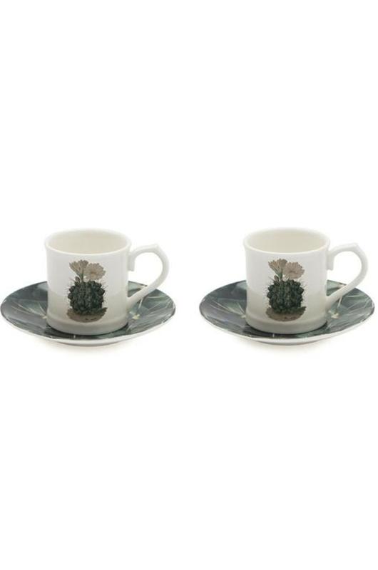Cubic Botanical Cacti Espresso set van 2