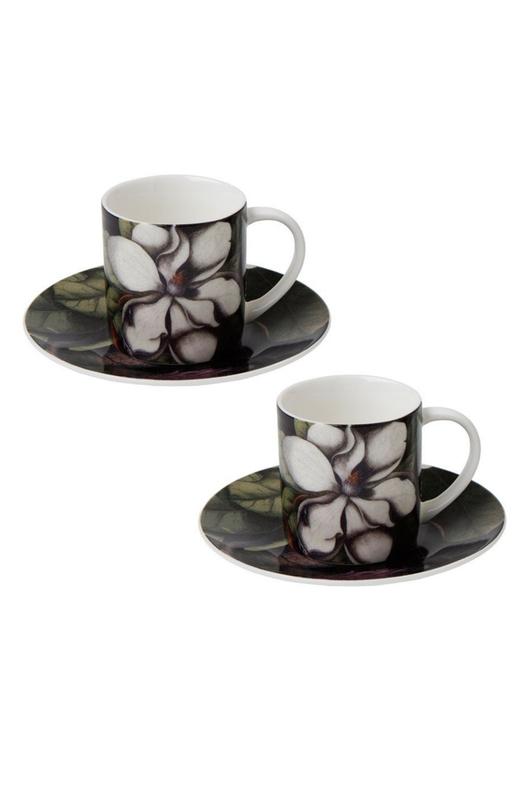 Cubic Biologica Magnolia Espresso set van 2