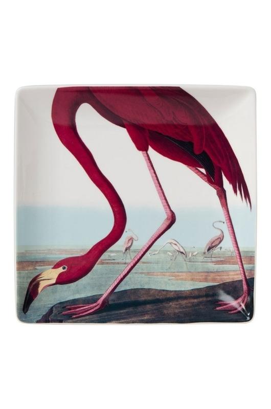 Cubic Audubon Flamingo schaal