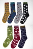 Thought fauna sock pack multicolour