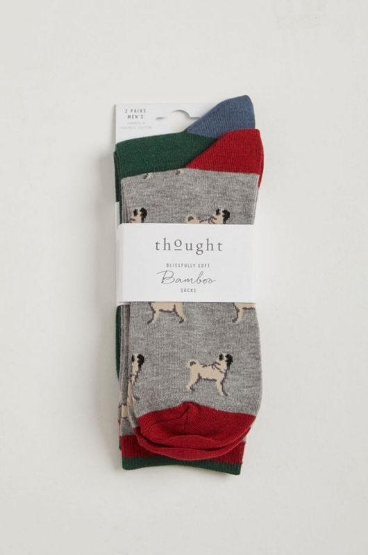 Thought pups sock in a bag multicolour