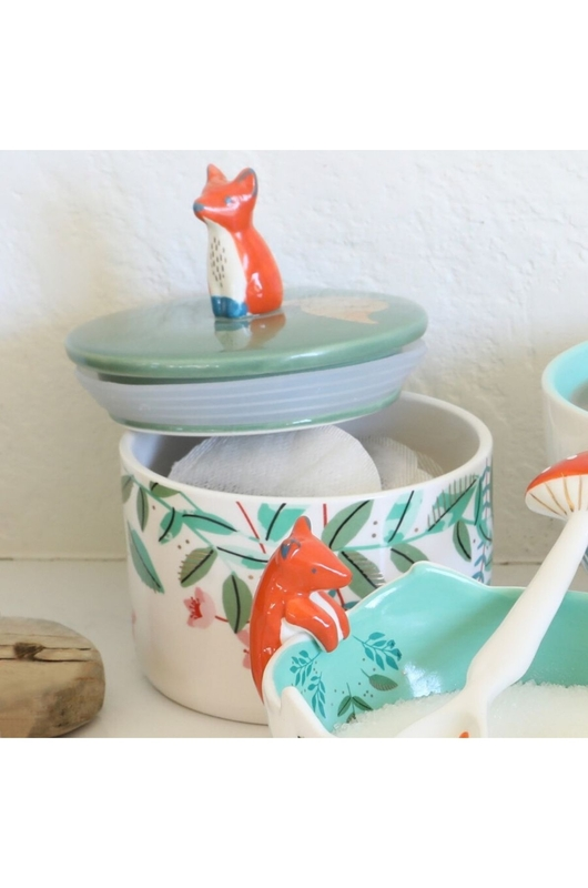 House of Disaster pot secret garden fox