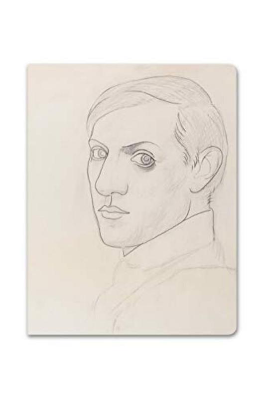 Alibabette schrift  Picasso Autoportrait