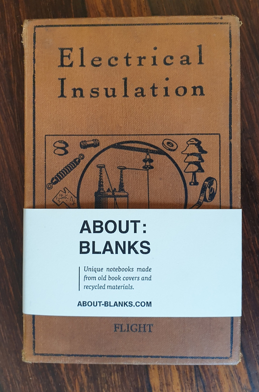 About Blanks notitieboek Electrical Insulation