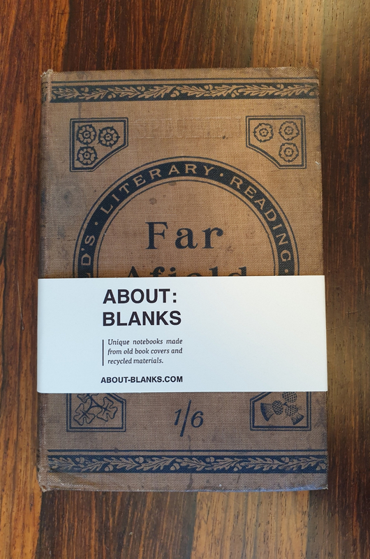 About Blanks Notitieboek Far Afield