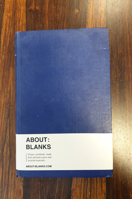 About Blanks Notitieboek Heidi